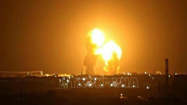 Hai quả tên lửa rơi gần công ty dầu mỏ Trung Quốc tại Iraq