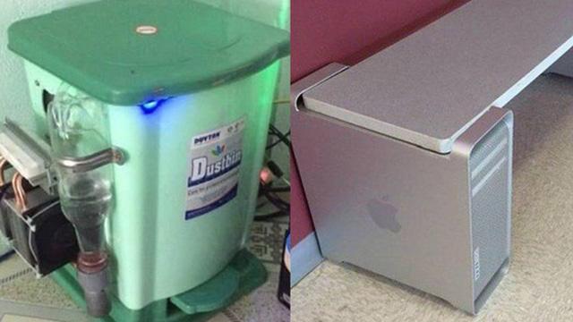 Những pha chế đồ 'rảnh rỗi sinh nông nổi' khi cách ly tại nhà quá lâu: Có người lấy cả Mac Pro làm chân bàn trang trí