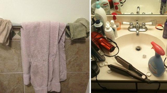 """10 điều nếu để xuất hiện trong phòng tắm có thể khiến bất cứ chị em nào cũng phải """"phát điên"""""""