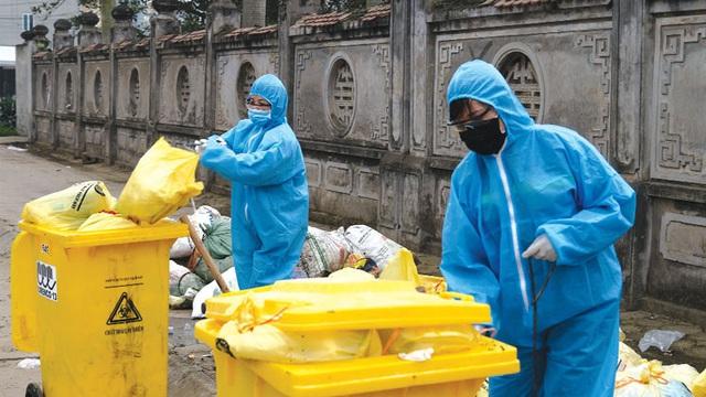 Bảo vệ môi trường gắn với phòng, chống dịch