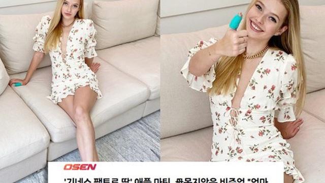 """Mẹ là mỹ nhân """"Iron Man"""", bố là giọng ca chính Coldplay, cô nàng 16 tuổi lên luôn top trend Hàn Quốc chỉ nhờ 1 bài đăng"""