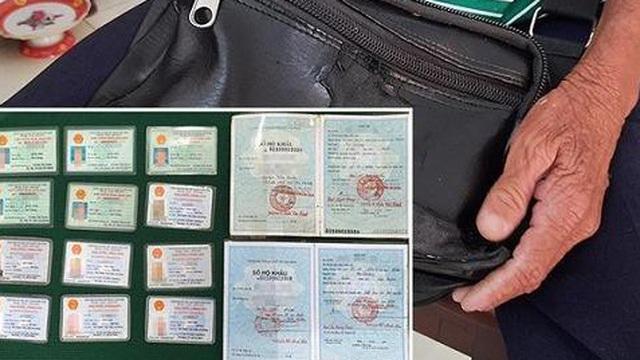 Cụ ông ăn xin có 7 thẻ căn cước công dân, 5 chứng minh nhân dân, công an nói gì?