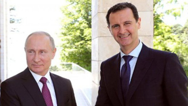 """Chiến sự Syria: Phản pháo thẳng thắn của Nga về việc """"bắt tay"""" với Iran để phế truất TT Assad"""