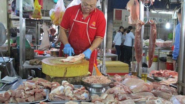 Giá thịt heo tăng nóng !