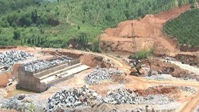 Rơi từ dầm cao công trình thủy điện, 3 công nhân thiệt mạng