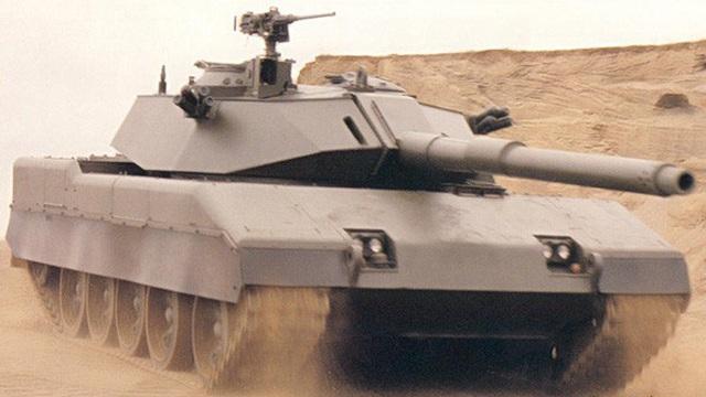 Trung Quốc-Mỹ hợp tác sản xuất xe tăng chủ lực