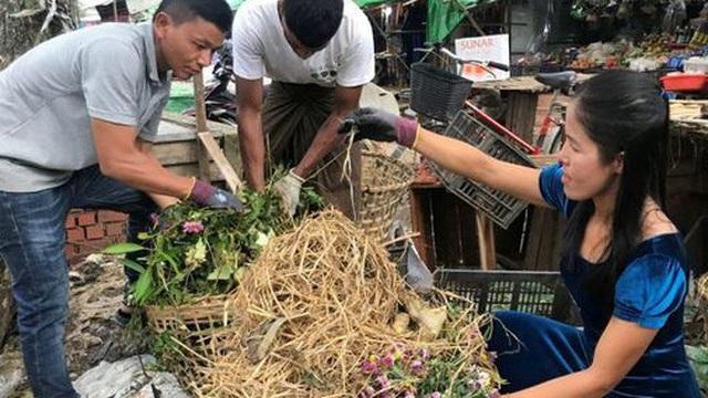 Làm giàu từ rác thực phẩm