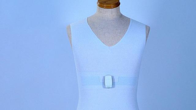 Áo phông đặc biệt theo dõi bệnh nhân mắc Covid-19 từ xa
