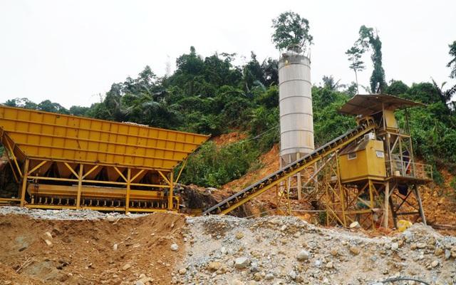 Dừng xây dựng tại công trình Thủy điện Rào Trăng 3