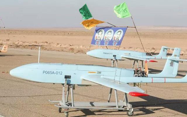 Iran khoe máy bay không người láI 'có thể tấn công căn cứ Mỹ ở châu Âu'