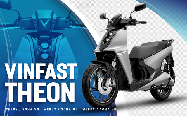 VinFast Theon là 'câu trả lời' đanh thép - điều gì khiến Honda SH phải lo lắng?