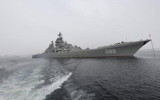 Sự trở lại ngoạn mục của hải quân Nga
