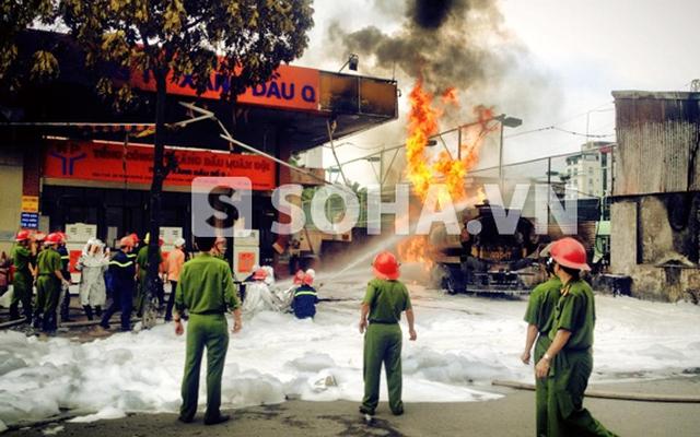 Cháy cây xăng Quân đội, ra hàng loạt sai phạm