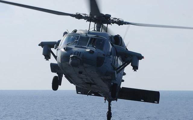 Trực thăng quân sự Mỹ rơi gần Syria, 2 người mất tích