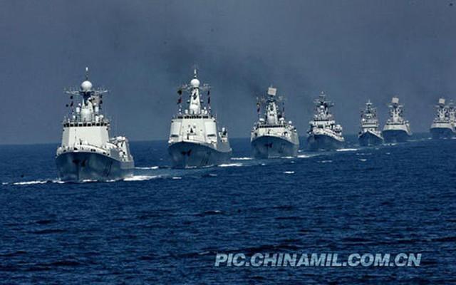 Sự nguy hiểm của Hạm đội Nam Hải trên Biển Đông