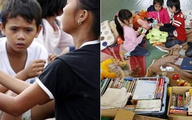 Sau thảm họa: Nhật 2 ngày dọn xong, Philippines 10 ngày vẫn đói