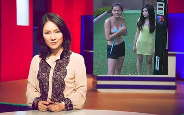 Sốc với màn bán nude phản cảm của người mẫu Quỳnh Trang