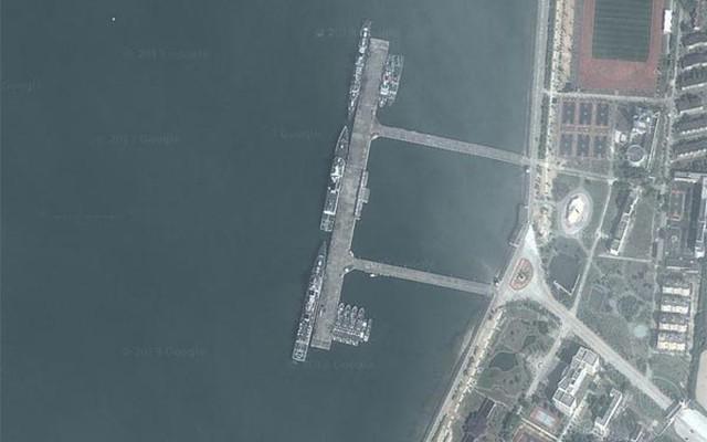 Căn cứ chiến lược của Hạm đội Nam Hải bóp nghẹt Biển Đông