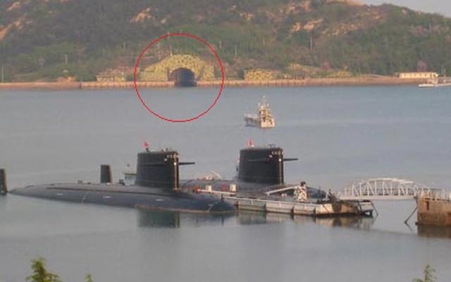 Hạm đội Nam Hải dùng căn cứ tàu ngầm khống chế Biển Đông