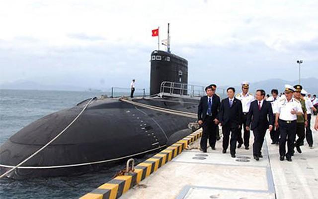 Tàu ngầm Hà Nội hoàn tất thử nghiệm ở Biển Đông, trở về Cam Ranh
