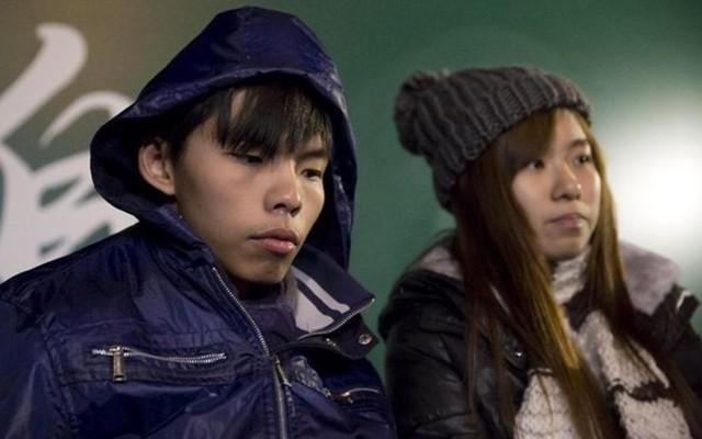 Thủ lĩnh sinh viên Hồng Kông Joshua Wong ngừng tuyệt thực