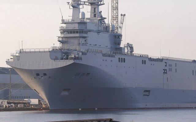 Pháp bí mật chuyển tàu Mistral đóng cho Nga đi đâu?