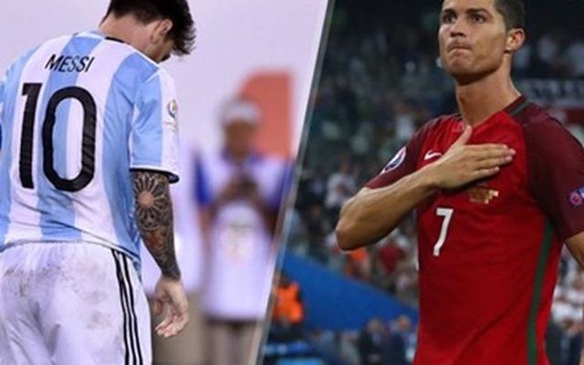 Ronaldo sẽ vô địch Euro để… cứu Messi