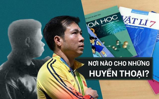 Vụ trưởng Thể thao: Cần đưa Hoàng Xuân Vinh, huyền thoại Trần Oanh vào sách giáo khoa