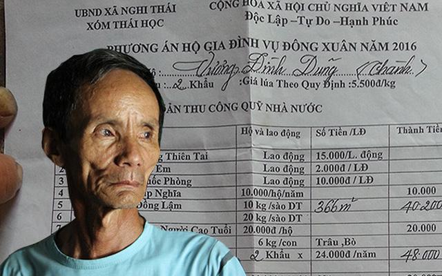 """Nghệ An: Chủ tịch huyện cũng bức xúc vụ """"dân còng lưng gánh quỹ"""""""