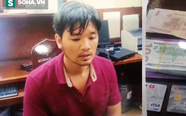 Nóng: Bắt kẻ trộm xe vàng ở Hà Đông, thu giữ hơn 4 tỷ tiền mặt