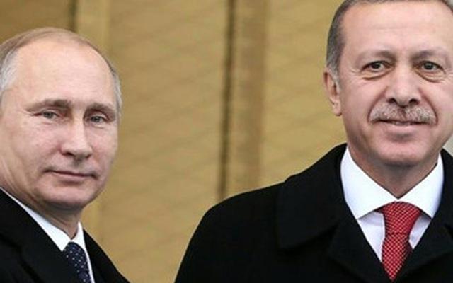 """Quan hệ Nga - Thổ Nhĩ Kỳ bắt đầu """"tan băng"""""""