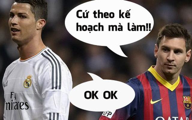 """Messi gửi mật thư, cùng Ronaldo """"dàn xếp"""" Euro 2016"""