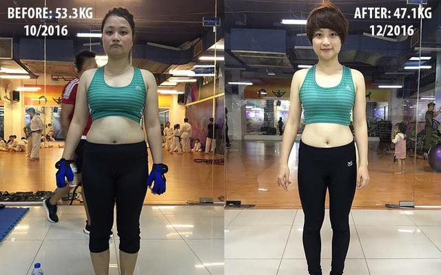 Cô gái bỏ việc chỉ để tập gym và đây là kết quả không ngờ sau 2 tháng