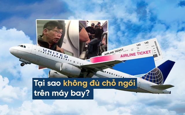 """Vụ United Airlines đuổi khách: Độc chiêu của các hãng bay khiến hành khách  """"bất lực"""""""