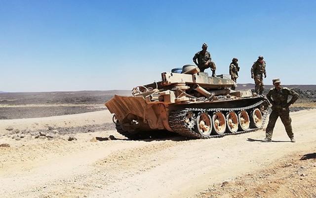 Quân đội Syria giải phóng al-Safa, chuẩn bị đánh IS trên cao nguyên Homs