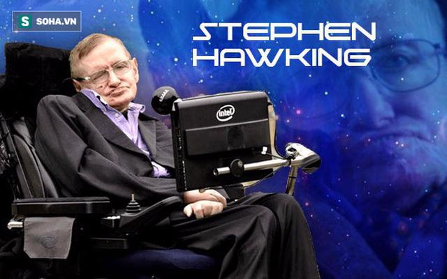 Hai tuần trước khi mất, Stephen Hawking dự đoán kết cục bất ngờ của vũ trụ