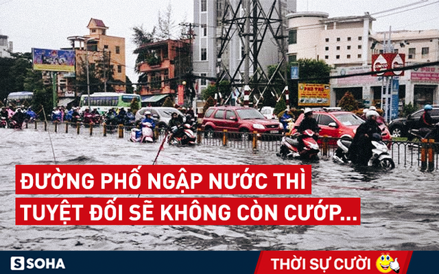 "Người Sài Gòn nên vui mừng khi thành phố có quá nhiều điểm ""tụ nước"""