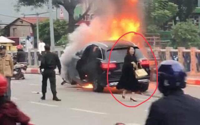 Diễn biến mới nhất vụ nữ tài xế lái xe Mercedes gây tai nạn rồi bốc cháy
