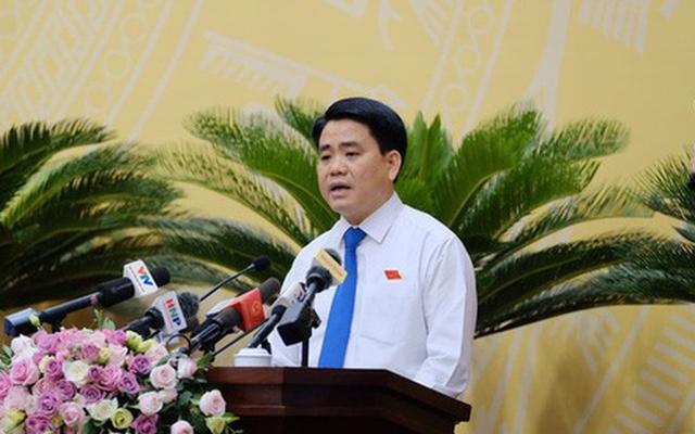 Chủ tịch Hà Nội nói về trách nhiệm trong vụ nước sông Đà nhiễm dầu thải