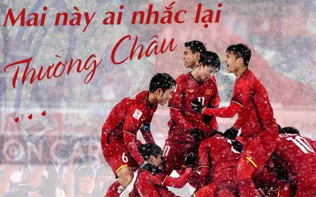 Ngày này 1 năm trước, U23 Việt Nam viết lên câu chuyện lịch sử tại Thường Châu tuyết trắng