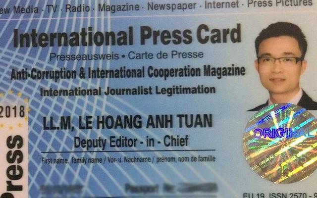 Bộ Ngoại giao trả lời về 'nhà báo quốc tế' Lê Hoàng Anh Tuấn