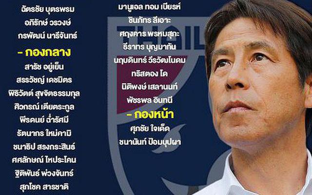 Báo Thái Lan dự đoán đội hình kỳ lạ HLV Nishino có thể sử dụng đấu tuyển Việt Nam