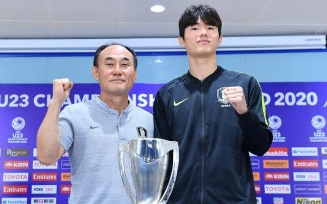 HLV U23 Hàn Quốc nói gì trước trận chung kết U23 châu Á?