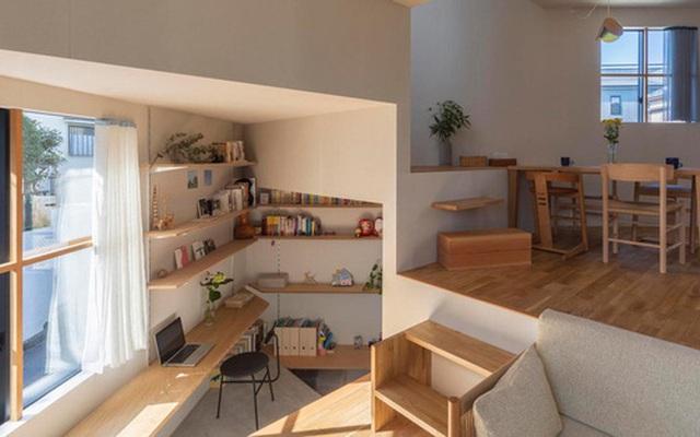 Ngôi nhà nhỏ ở Nhật được thiết kế siêu độc đáo để ăn gian diện tích, giúp nhà rộng hơn nhờ vào các không gian chức năng được chia theo... toán học
