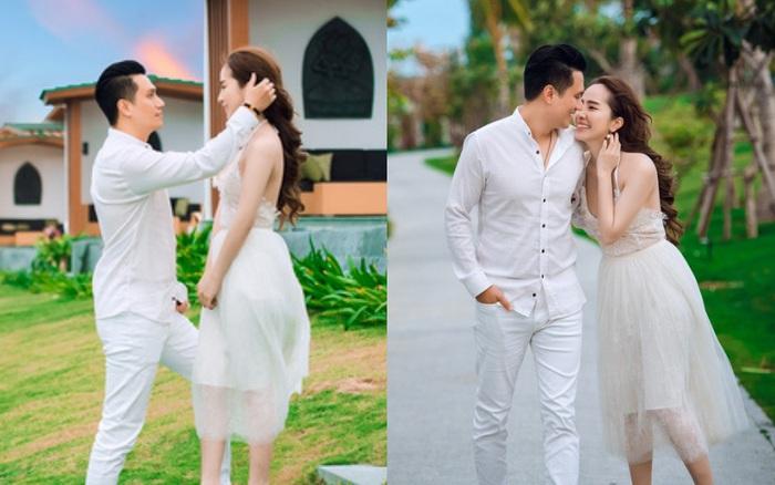 Việt Anh và Quỳnh Nga chính thức công khai những hình ảnh thân mật, tình tứ