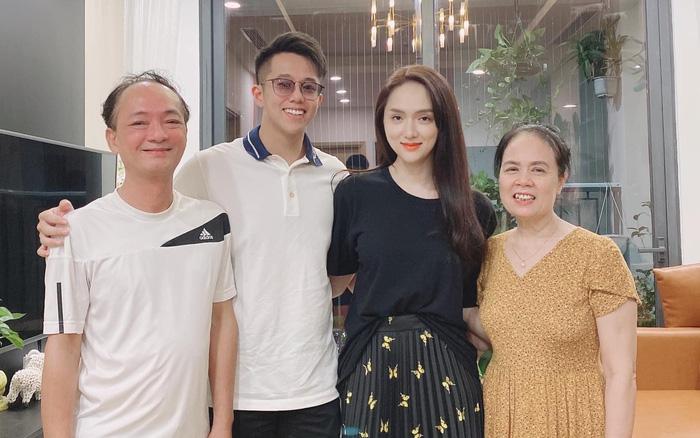 Hoa hậu Hương Giang dẫn bạn trai đại gia về ra mắt bố mẹ
