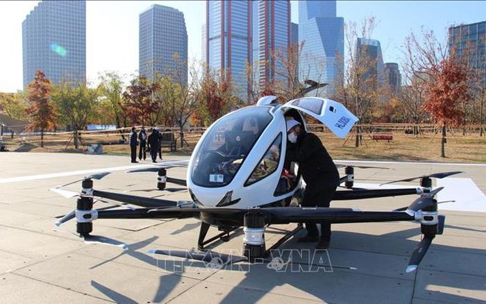 Hàn Quốc lần đầu tiên thử nghiệm taxi bay tại Seoul