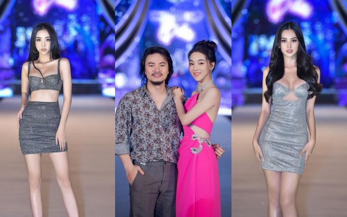 Vợ chồng đạo diễn Hoàng Nhật Nam tình tứ, loạt người đẹp diện váy ngắn sexy