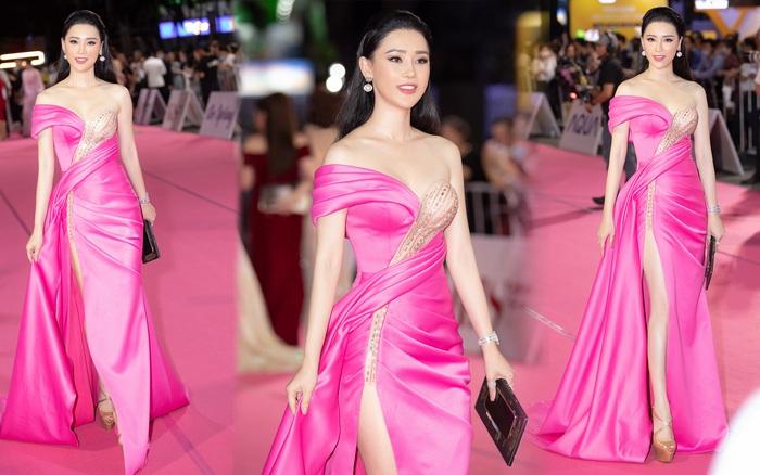 Thái Như Ngọc trao giải Người đẹp Nhân ái, khen mặt mộc Đỗ Thị Hà