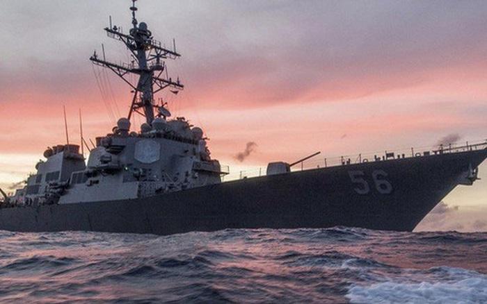 Mỹ phản ứng vụ tàu khu trục bị tàu chiến Nga dọa đâm